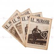 """Jornal """"Le Miroir"""" - 4 publicações"""