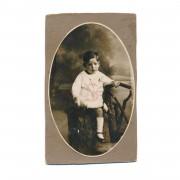 Fotografia vintage de criança