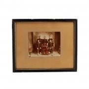 Fotografia antiga de Oficiais de infantaria
